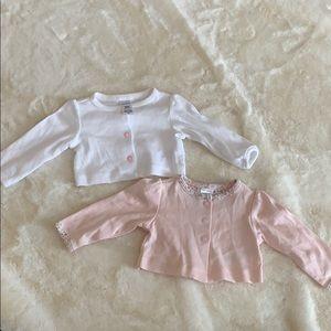 Carter's 3 month cardigan bundle